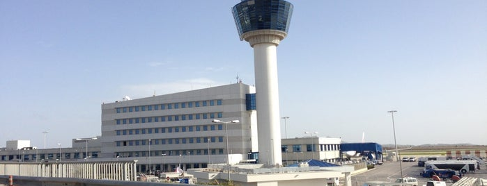 Athens International Airport Eleftherios Venizelos (ATH) is one of Official airport venues.