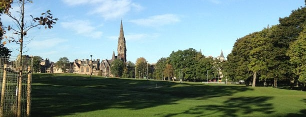 The Meadows is one of Edinburgh.