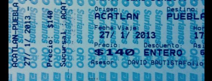 Terminal De Autobuses Acatlan is one of Locais curtidos por Fabiola.