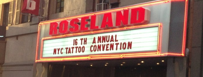 Roseland Ballroom is one of Lugares guardados de Candice.