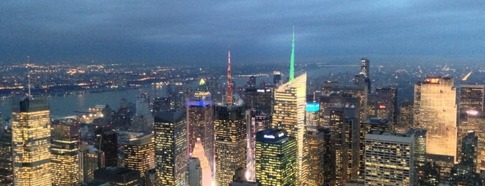 102nd Floor Observatory is one of DINA4NYC.