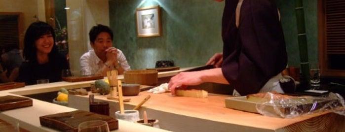 Urasawa is one of 寿司.