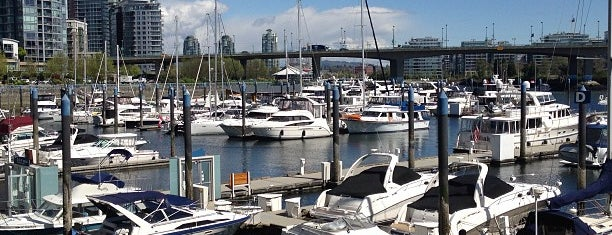 Marinaside Seawall is one of Vancouver.