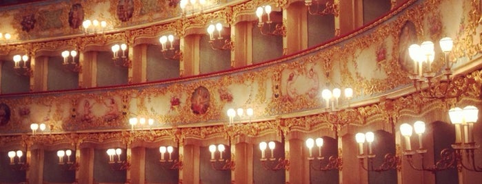 Teatro La Fenice is one of Gabriele d'Annunzio -  #ilVate4sq.