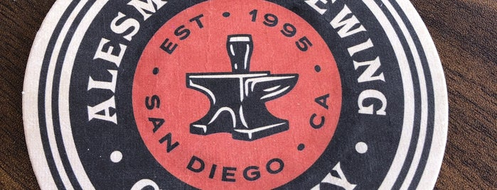 AleSmith Anvil & Stave is one of Stay Classy San Diego.