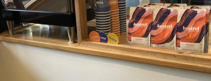 Kestrel Coffee is one of Burlington.