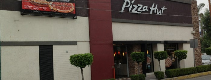 Pizza Hut is one of Pizzas Que He Comido.