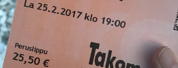Teatteri Takomo is one of Theater in Helsinki.