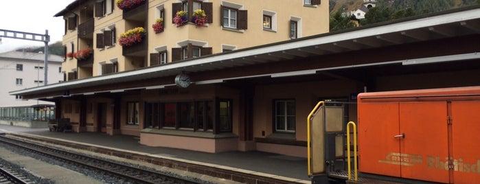 Bahnhof Samedan is one of Europe Favourites.