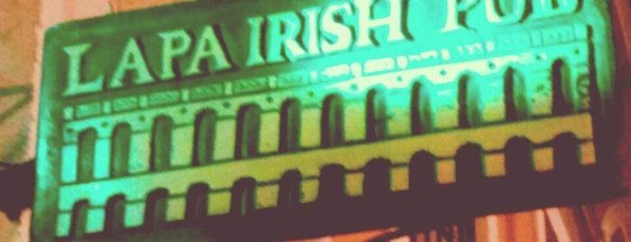 Lapa Irish Pub is one of Bruna 님이 저장한 장소.