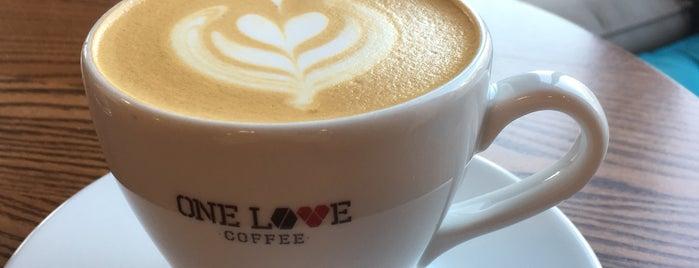 ONE LOVE coffee is one of Kiev.