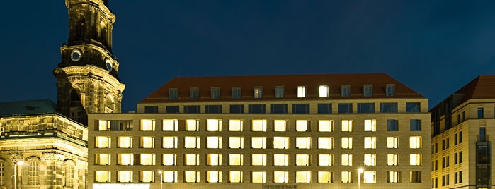Hotel NH Collection Dresden Altmarkt is one of Joud's Liked Places.