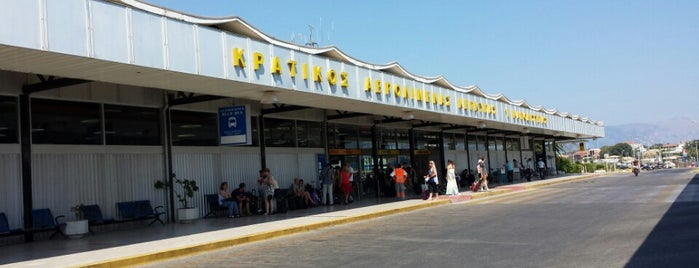 Corfu Ioannis Kapodistrias International Airport (CFU) is one of Airports.