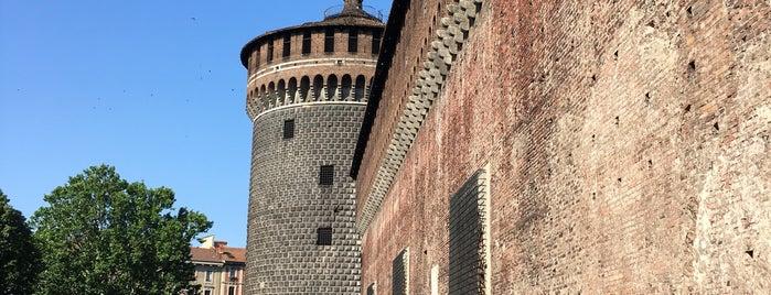 Castillo Sforzesco is one of Lugares favoritos de Kyriaki.