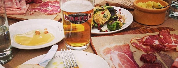 Birreria at Eataly is one of Places to try.