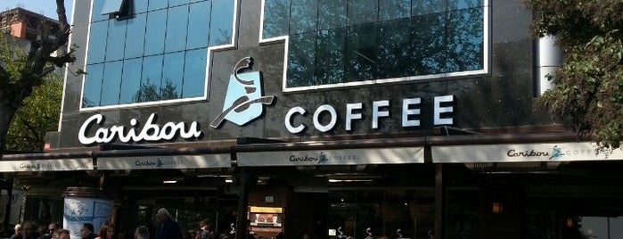 Caribou Coffee is one of Locais curtidos por Onur.