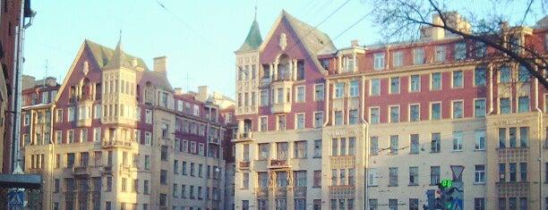 Доходный дом купца М. Н. Полежаева is one of Mihail : понравившиеся места.