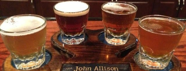 John Allison Public House is one of Lugares favoritos de Kelley.