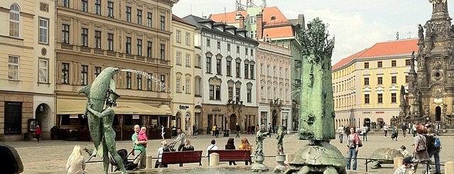 Horní náměstí is one of Experience Olomouc like a locals!.