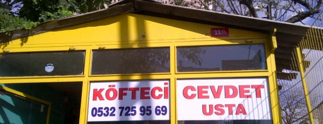 Köfteci Cevdet Usta is one of kebap.