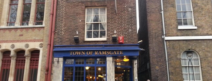 Town Of Ramsgate is one of London Pubs.