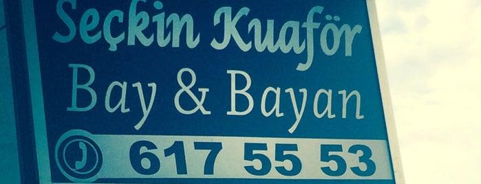 Seçkin Kuaför is one of สถานที่ที่ Sedat ถูกใจ.