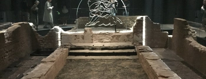 London Mithraeum Bloomberg SPACE is one of London 2019.