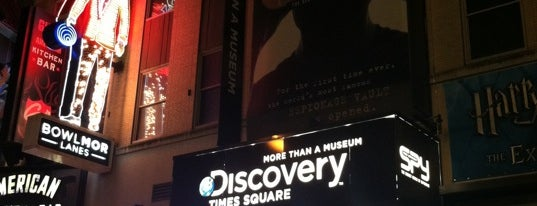 Discovery Times Square is one of NYC.