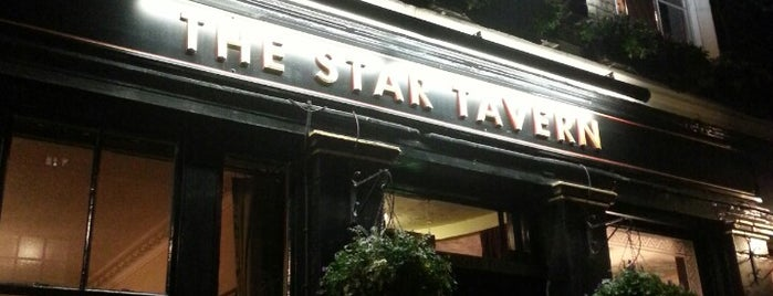 The Star Tavern is one of Pubs London.