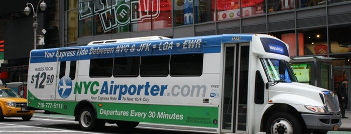 NYC Airporter is one of #nuevaYorkNoEsBarranquilla.
