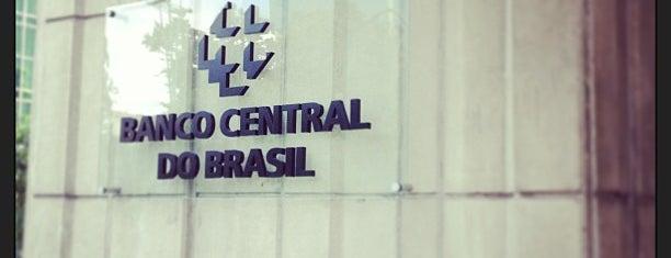Banco Central do Brasil (BACEN) is one of Venha até São Paulo ver o que é bom pra tosse.