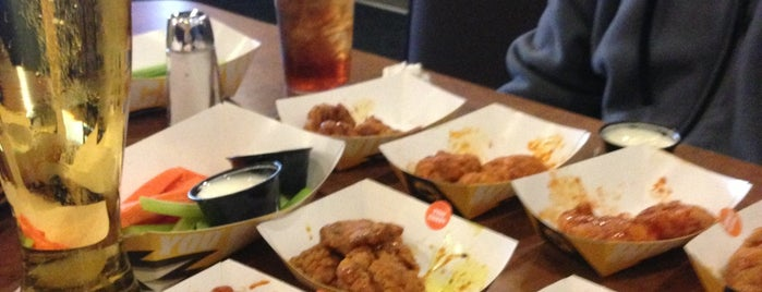 Buffalo Wild Wings is one of Restaurants.