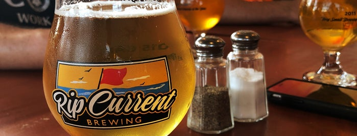 Rip Current Brewing is one of San Diego Faves.