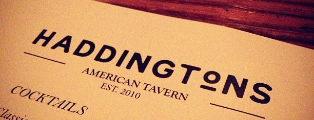 Haddington's is one of SXSW® 2013 (South by Southwest) Guide.