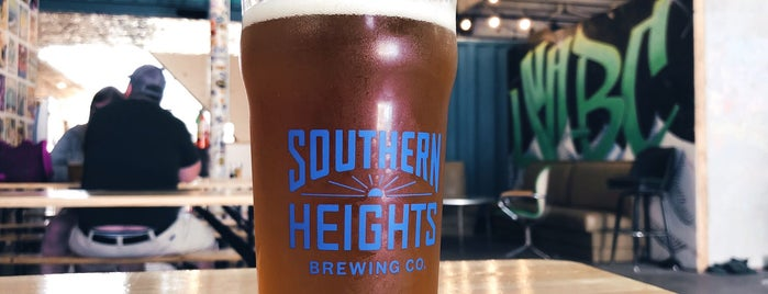 Southern Heights Brewery is one of Food Guide for Visiting Friends.