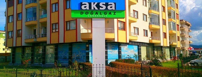 Aksa Çanakkale Doğalgaz (Çanakkalegaz) is one of Borga 님이 좋아한 장소.