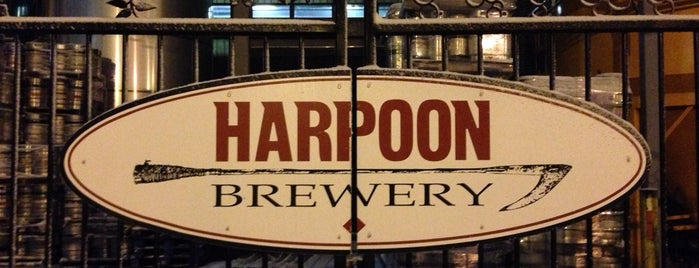 Harpoon Brewery is one of Breweries USA.