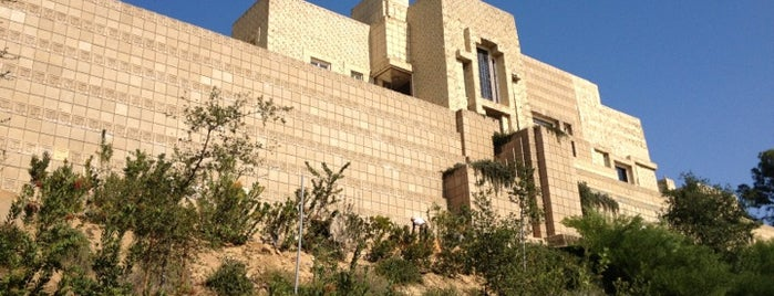 Ennis House is one of West Coast Sites.