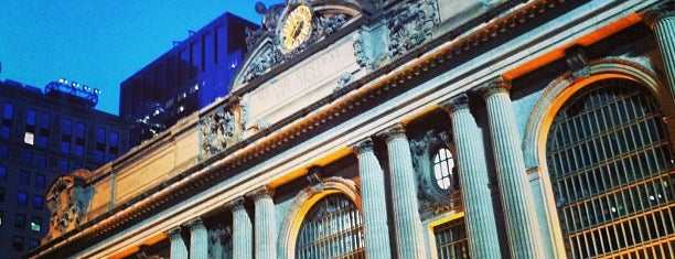Grand Central Terminal is one of Manhattan Favorites.