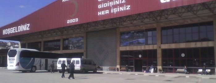 Kastamonu Şehirler Arası Otobüs Terminali is one of Selcuk 님이 좋아한 장소.