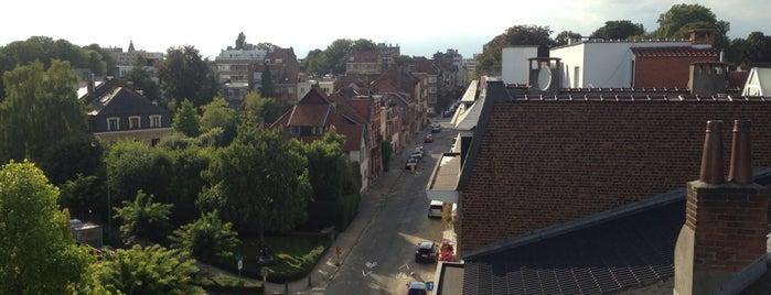 Rue Père Eudore Devroyestraat is one of Tempat yang Disukai Christian.