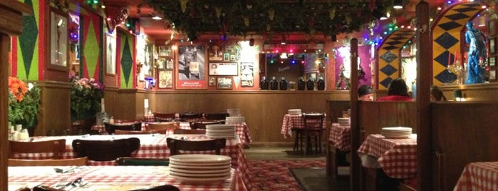 Buca di Beppo is one of Gluten free options.