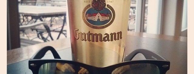 Gutmann am Dutzendteich is one of Nuremberg's favourite places.