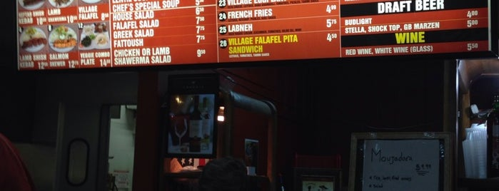 Village Falafel is one of To try.