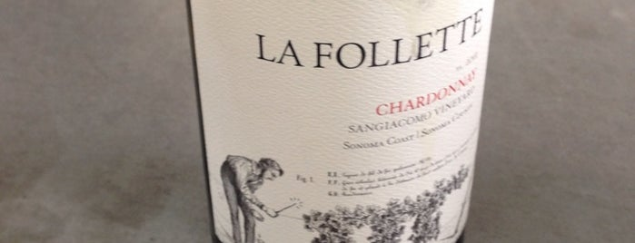 LaFollette Wines is one of Sonoma County.