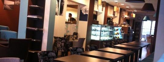 Cafe Stockholm is one of şekil ya.
