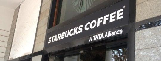 Starbucks is one of Вылазка в Дели 16 мая.