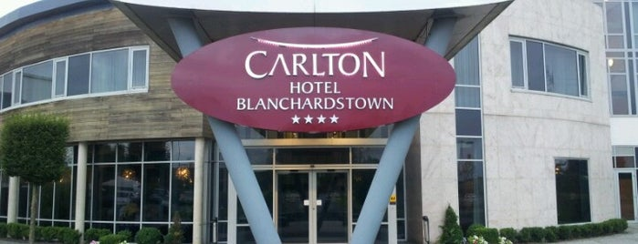 Carlton Hotel Blanchardstown is one of Tempat yang Disukai Fabio.