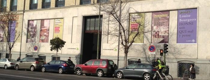 La Casa Encendida is one of Madrid.