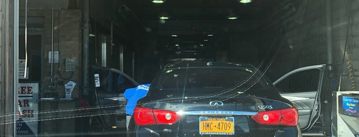 High-Tech Car Wash is one of Long Island.